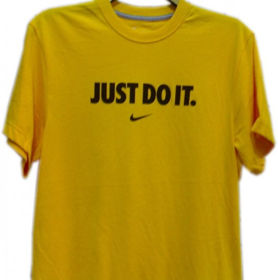 "T-SHIRT MEN'S BRANDED ""NIKE""100%OrganicCottonSize M,L,XL,XXLCOLOR YELLOW, please mention the size."