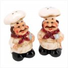 LE CHEF SALT AND PEPPER SHAKERS