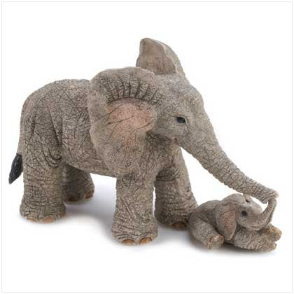 "TUSKERS ""Tender Touch"" Figurine"