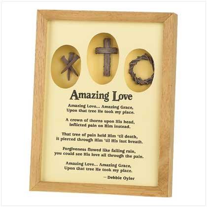 Amazing Love Shadow Box