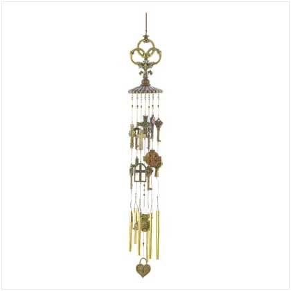 Key's to the Kingdom Wind Chime