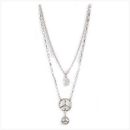 Peace Charm Necklace