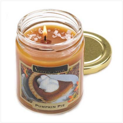 Pumpkin Pie Treats Candle