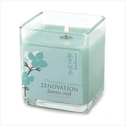 Peppermint Gardenia Candle