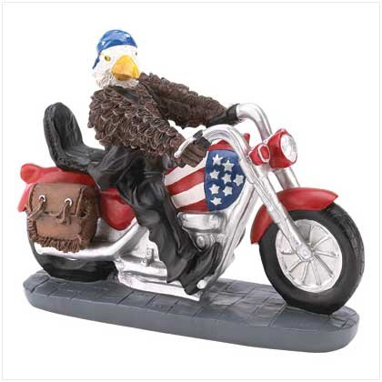 Eagle Rider Figurine