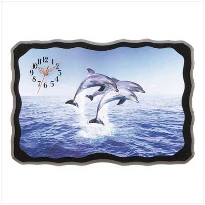 Dolphin Delight Wall Clock