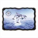 Dolphin Delight Wall Clock