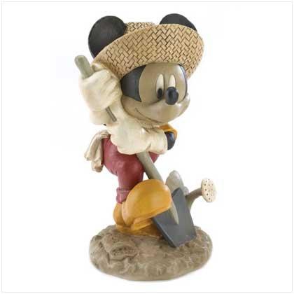Mickey Gardening Figurine