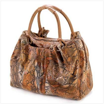 Snake Skin Printed Bag