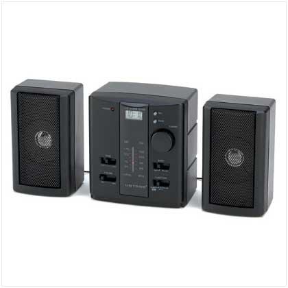 AM/FM Mini Stereo Alarm Clock