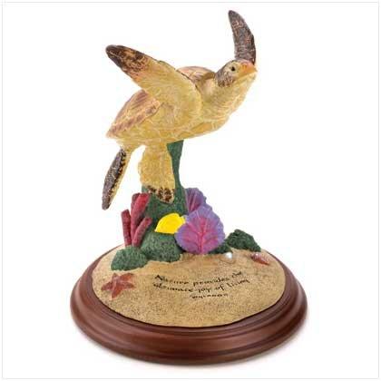 Wyland Sea Turtle Figurine