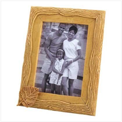 Aspen Leaf Photo Frame