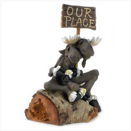 """""""Our Place"""" Moose Statue"""