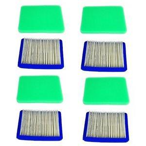 4 Pre-Filters & 4 Air Filters 21529800, 399959, 491588, 33644, 491435, 493537