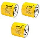 3 Pk OEM Kohler Oil Filters For 25 050 34 S, AM101207, 042366, 220-1523