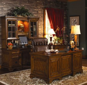 Old World Executive Home Office Desk