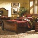 Vineyard Sleigh Bed Master Bedroom Furniture Set