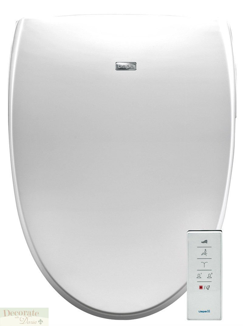 Bio Bidet A8 Serenity Elongated Electronic Toilet Seat