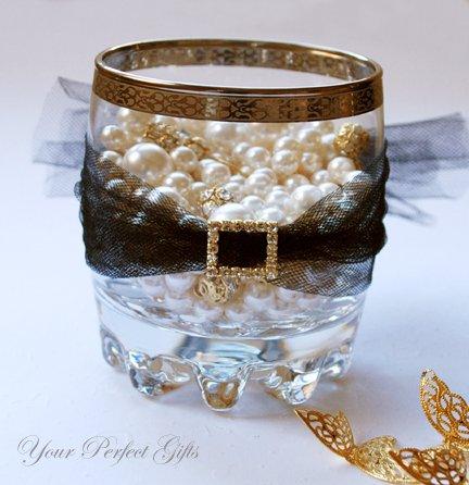 24 RECTANGLE Gold Diamante Rhinestone Crystal Buckle Sliders For Wedding Invitation BK087