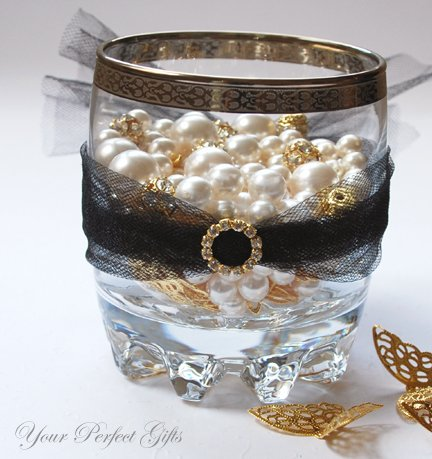 24 Rhinestone Buckle ROUND CIRCLE Gold Diamante Crystal Sliders For Wedding Invitation BK019