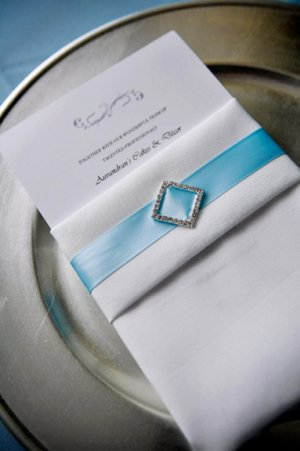 "12 DIAMOND SQUARE 1"" Silver Diamante Rhinestone Crystal Buckle Sliders Wedding Invitation BK045"