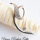 1 pc 54mm Fancy Flower Diamante Rhinestone Crystal Silver Brooch Pin Jewelry Cake Decoration BR033