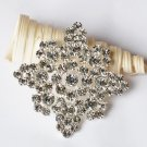 1 pc Rhinestone Crystal Diamante Silver Flower Brooch Pin Jewelry Wedding Cake Decoration BR096