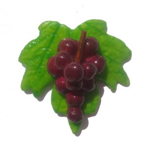 Red Grapes--ALL MAGNET ORDERS HAVE A 25 PIECE MINIMUM (ASSORTED OR SAME)