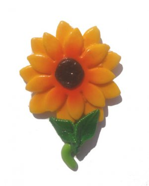 Sunflower----ALL MAGNET ORDERS HAVE A 25 PIECE MINIMUM (ASSORTED OR SAME)
