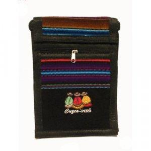 "Black 'The Gossips' Las Chismosas  Shoulder Bag 8.5""H x 5.75""W with 40 inch shoulder strap"