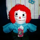 Handmade Raggedy Andy Doll with Matched Quilt B is for Bears OOAK Bear Print