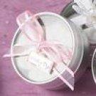 Baby Shower butter mint favor tin - girl - 10 favors
