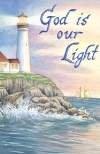 God is our Light Large Summer Flag