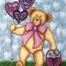 Valentine Bears Garden Mini Flag