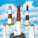 Lighthouses Garden Mini Summer Flag