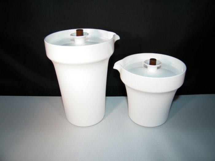 Tupperware VINTAGE Style SUGAR CREAMER Set NEW