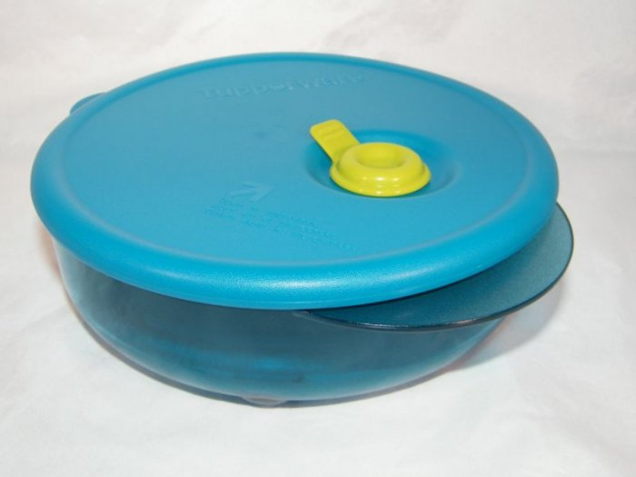 Tupperware Rock Vent N Serve Round Small 1 3/4 Cup