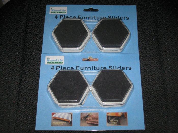 2 Packs of Homelife Essentials Furniture Sliders