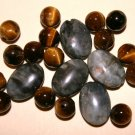 Obsidan/Tigers Eye Bead Set