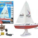 Remote Control Boat Sailing Yacht R/C Ready To Run RCB00003