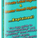 Private Label Rights & Master Resell Rights Explained