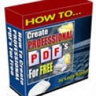 How to Create Professional PDF's for Free
