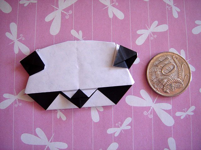 4 X ASSORTED HANDMADE ORIGAMI PANDA