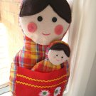 HANDMADE BABUSHKA DOLL SET B - UNIQUE ONE OF A KIND