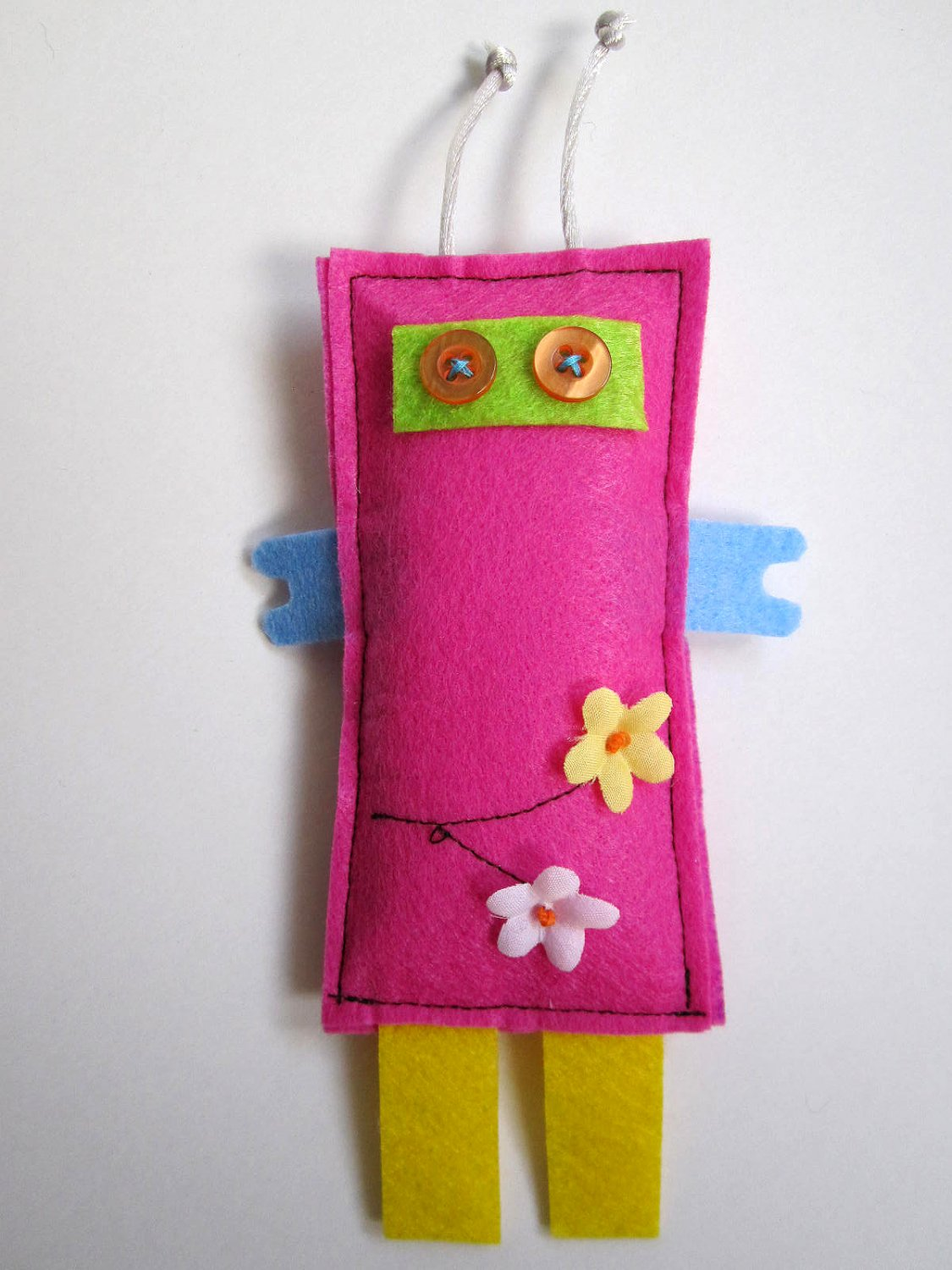 Prunella HANDMADE ROBOTS- UNIQUE ONE OF A KIND