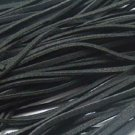 25 METERS SUEDE LEATHER LACE/CORD - black