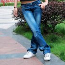 Korean Style Brand XZX New Fashion Lady's Jeans, Blue(26)