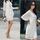 White Flowing Dress (XXXL)