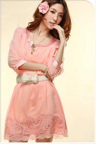 Rosa Chiffon Dress