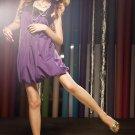 Grape Vine Bubble Dress